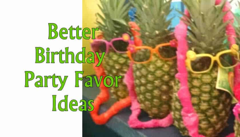 Kid's Party Favor Ideas