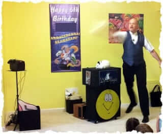 Magic show for a Maryland Birthday Party