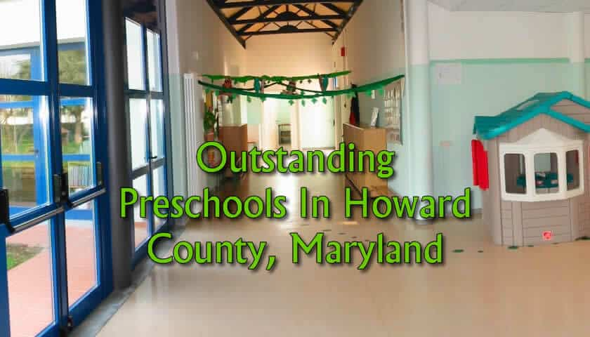 Outstanding Preschools In Howard County Maryland