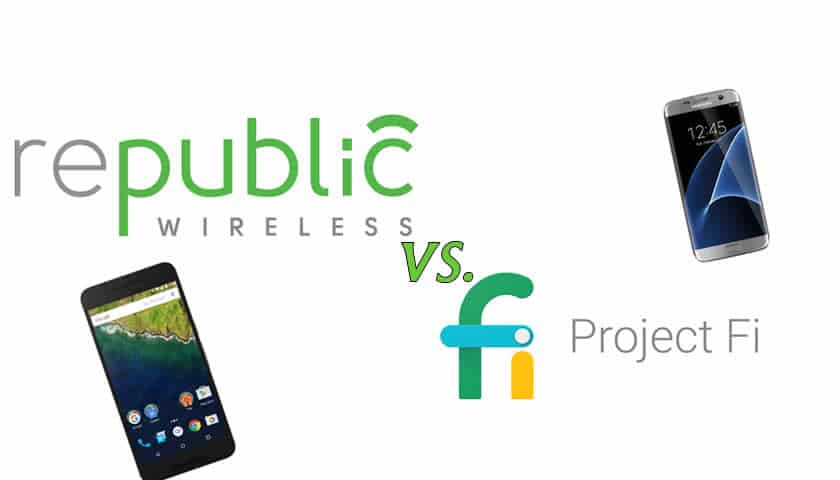 Republic Wireless 3.0 vs Google Project Fi Mobile Phone Service Review
